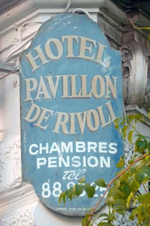 Hotel Villa Rivoli: Hotel Label of 1920