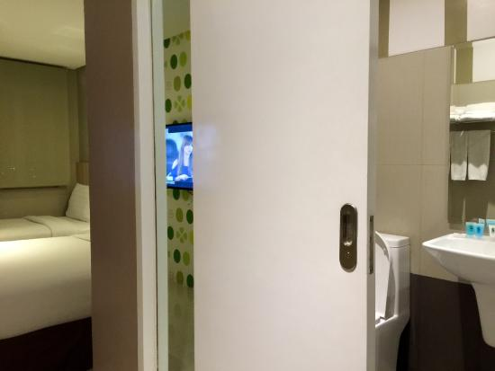 The Water Closet Behind The Sliding Door Picture Of Injap Tower