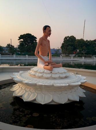 Shri Atmasiddhi Shastra Rachana Bhoomi: Shrimad Rajchandra statue