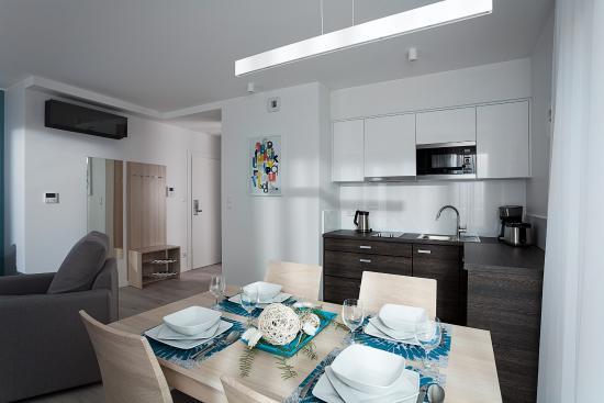 Aneks kuchenny apartament Superior 2 pokojowy