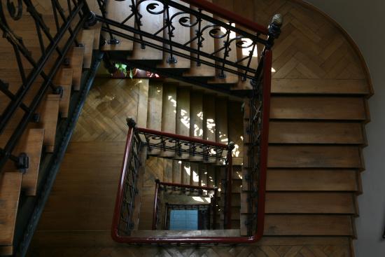 Art Hotel: schody