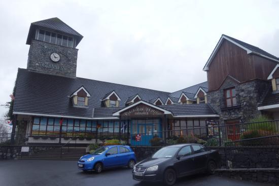 Maam Cross, Irlanda: vu de l'hotel
