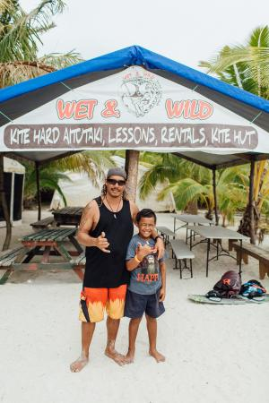 Wet & Wild Aitutaki: All the best fun - Kite board, Wake board, Skiing, Tube rides, Fishing, Spearfishing, Island hop