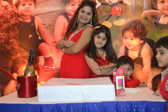 Hotel Sai Prakash: my sons 1st birthday party