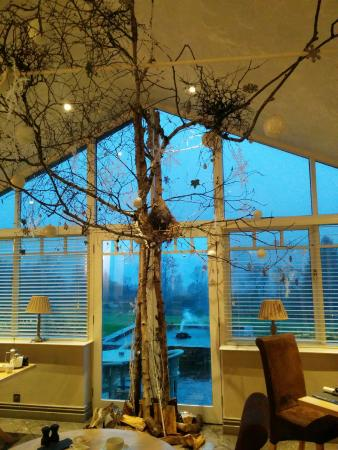 The Ryebeck: modern xmas tree