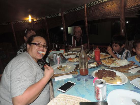 Satuiatua Beach Resort: yumm fresh seafood