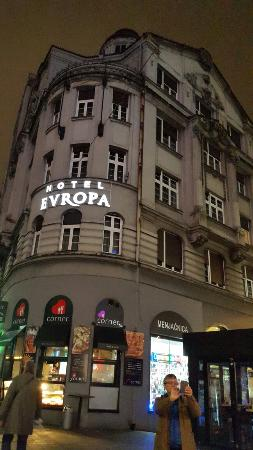 Evropa Garni Hotel: 20151210_164911_large.jpg