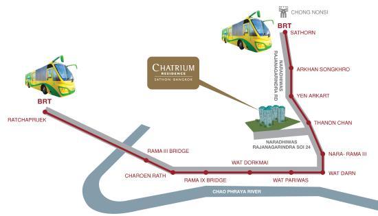 Minibar Foto Di Chatrium Residence Sathon Bangkok