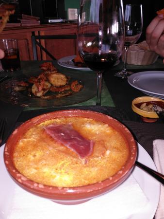Restaurante la Galana: Sopa Castellana. Reconfortante.