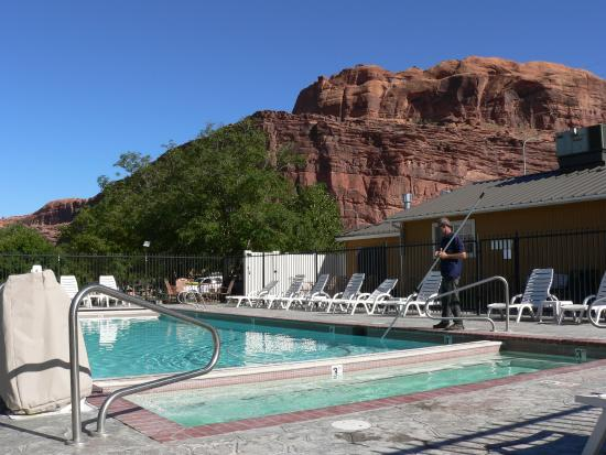 Our cabin picture of moab valley rv resort for Moab utah cabins