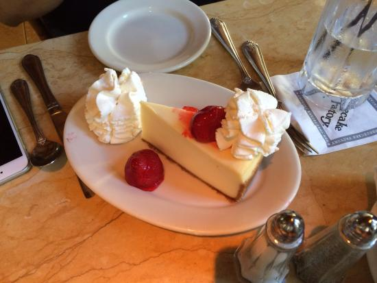 A must have... Cheesecake at the Cheesecake Factory!