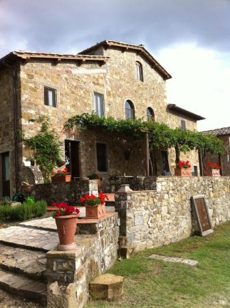 Agriturismo Podere Felceto: front of the house