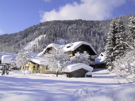 Gasthof Hintersee im Winter