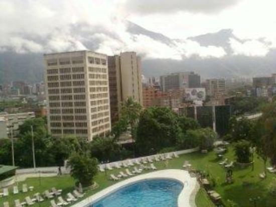 InterContinental Tamanaco Caracas: La vista de la ciudad desde mi habitacion