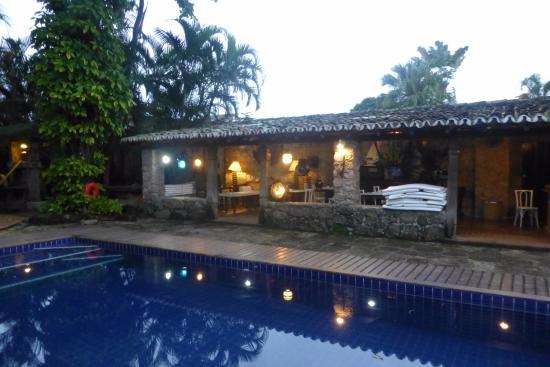 Pousada da Marquesa: Piscine jardin et bar