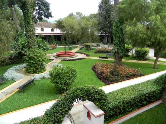 Villa Colonial: вид с террассы номера