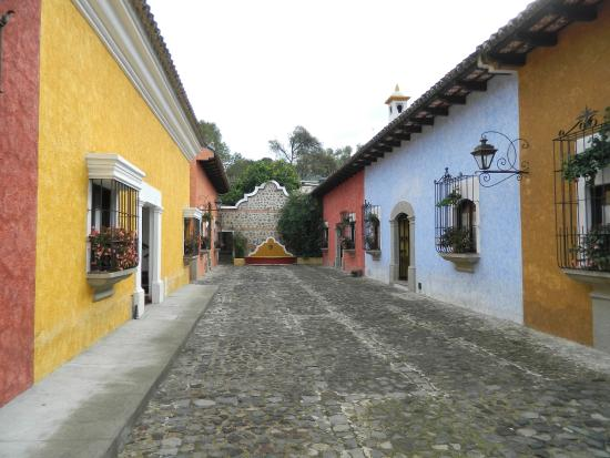 Villa Colonial: улочки отеля