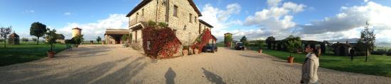 Paliano, Italië: Área externa
