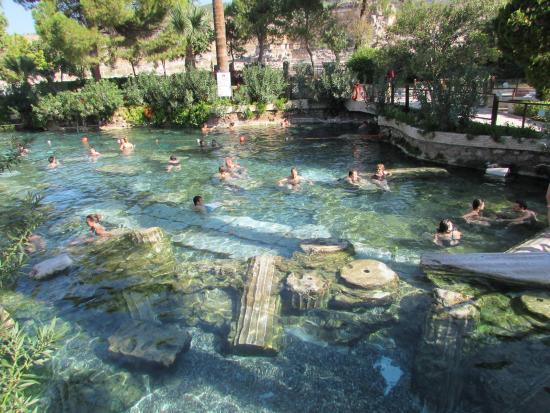 Hierapolis & Pamukkale : Piscine de Cléopatre