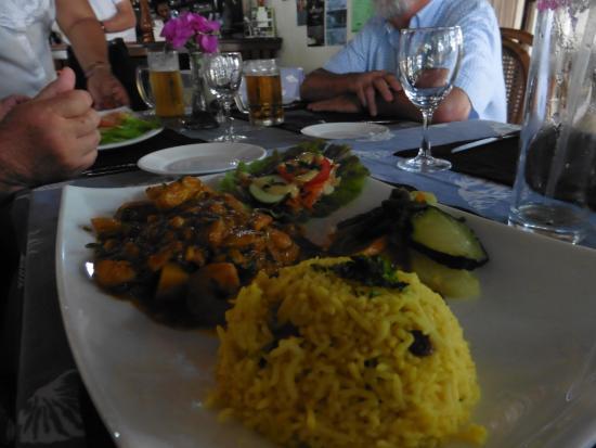 Restaurant Le Bougainville: Plat très copieux