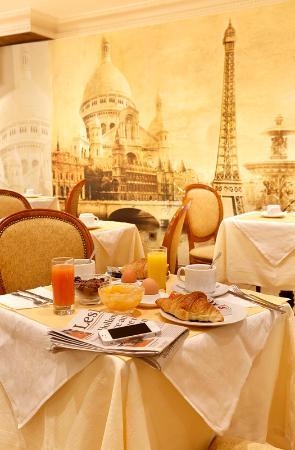 Paix Republique: Salle petit-déjeuner