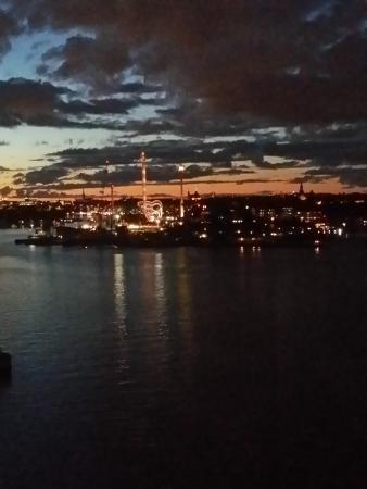 Elite Hotel Marina Tower: Blick auf Stockholm vom 10 . Stock