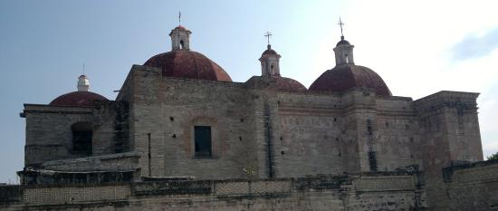 El Tule Tree of Life, Teotitlan Village, and Mitla Ruins Tour: Igreja Rústica