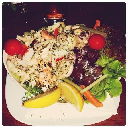 Balzan, Malta: Seafood Salad