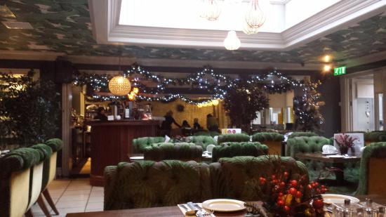 Drogheda, Irlanda: Breakfast area