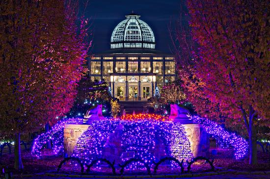 Lewis Ginter Dominion Gardenfest Of Lights Picture