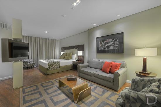 Hotel Deville Prime Porto Alegre : Apartamento Studio