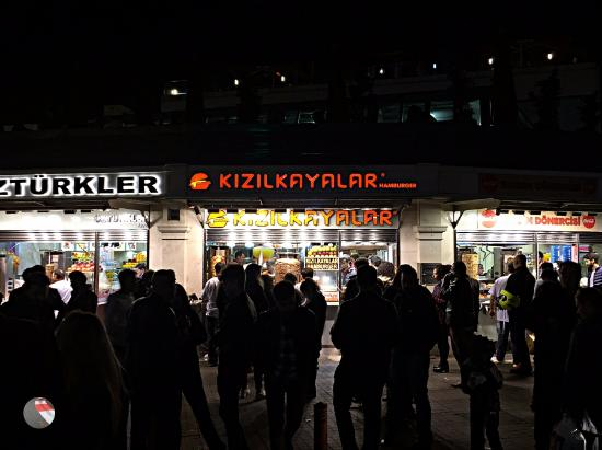 Kizilkayalar: Very crowded, most of times