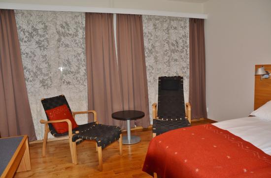 Roeros Hotel: sittegruppe