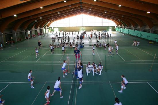 EuroCamp: Pala Tennis : volley