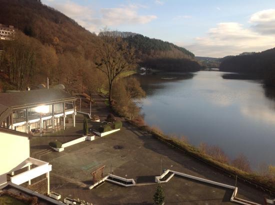 Biersdorf, Tyskland: vue sur le lac de la chambre