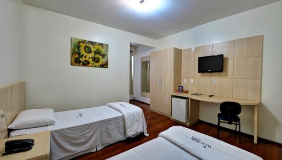 Porto Bello Palace Hotel: Apartamento Duplo
