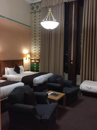 The Palace Hotel: Room