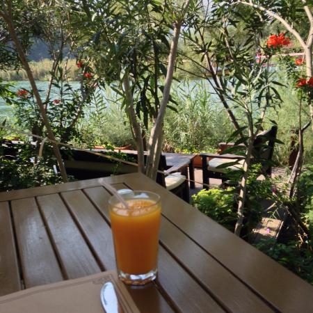 Dalyan Resort: aan de rivier