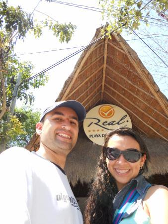 Real Playa del Carmen: Entrada