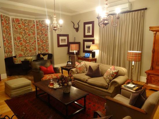Kwandwe Uplands Homestead: Living room