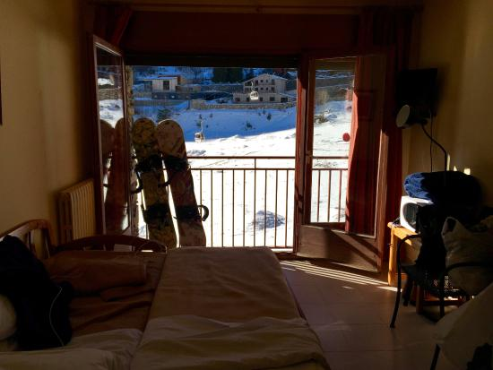 Aparthotel Poblado: View of room and view beyond