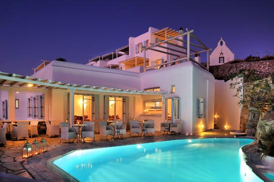 Deliades Hotel: Reastaurant-Pool