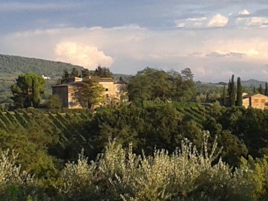 Salvadonica - Borgo Agrituristico del Chianti: view from room