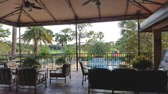 hotel resort patio and pool deck below picture of mission inn rh tripadvisor com