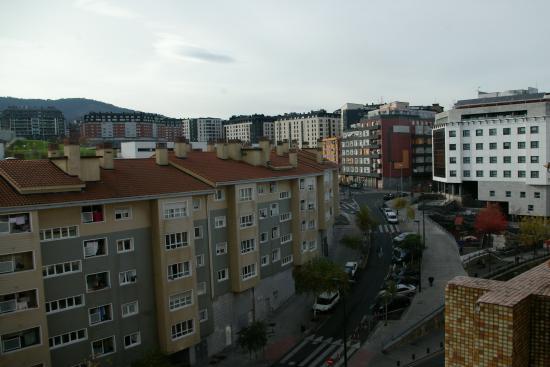Hotel Bilbi: The view