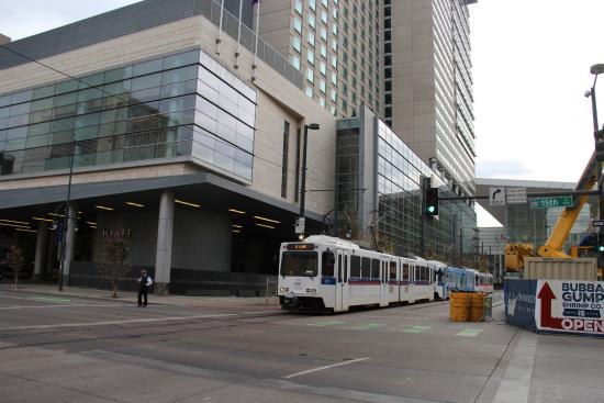 Hyatt Regency Denver At Colorado Convention Center Light Rail The Hotel