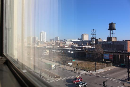 Chicago South Loop Hotel: from my room