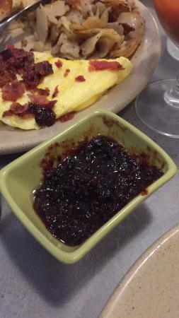 Carnegie, Pensilvania: House-Made Bacon-Honey Jam. YUM!