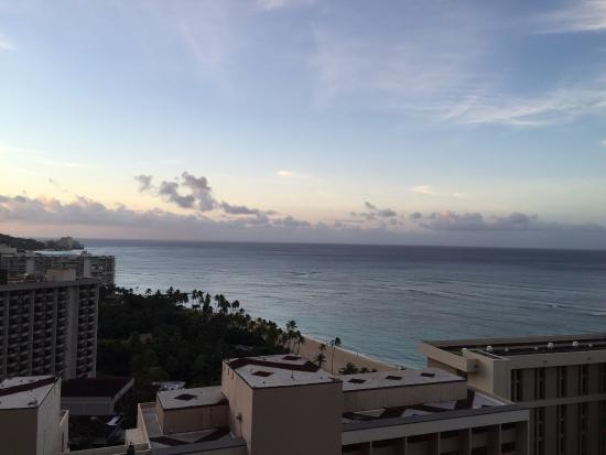 View From Our 21st Floor Partial Ocean View Room At The Tapa