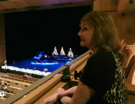 The Burlington Performing Arts Centre: View from the balcony